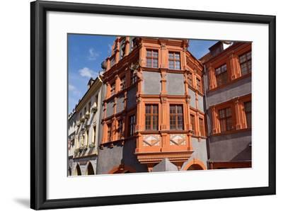 Germany, Saxony, G?rlitz, Sch?nhof, Silesian Museum-Catharina Lux-Framed Photographic Print
