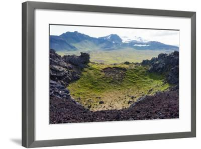 Peninsula Snaefellsnes, Saxh?ll-Catharina Lux-Framed Photographic Print