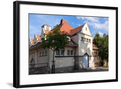 Germany, Saxony, G?rlitz, Jugendstil Gymnasium-Catharina Lux-Framed Photographic Print