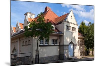 Germany, Saxony, G?rlitz, Jugendstil Gymnasium-Catharina Lux-Mounted Photographic Print