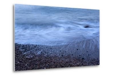 The Baltic Sea, R?gen, North Beach, Evening-Catharina Lux-Metal Print