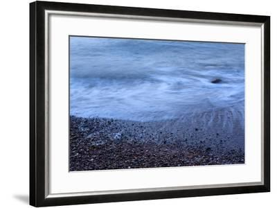 The Baltic Sea, R?gen, North Beach, Evening-Catharina Lux-Framed Photographic Print
