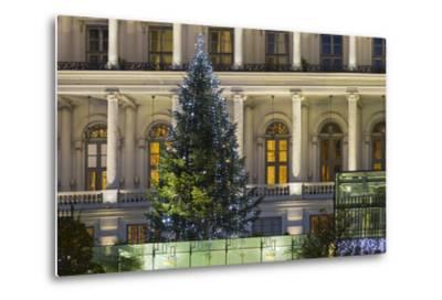 Palais Coburg, Theodor Herzl Square, 1st District, Vienna, Austria-Rainer Mirau-Metal Print
