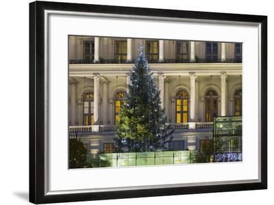 Palais Coburg, Theodor Herzl Square, 1st District, Vienna, Austria-Rainer Mirau-Framed Photographic Print