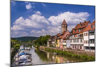 Germany, Baden-W?rttemberg, Main-Tauber-Region, Wertheim, Tauberufer-Udo Siebig-Mounted Photographic Print