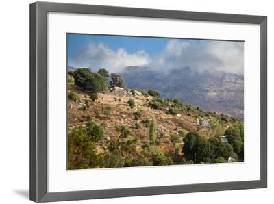 Greece, Crete, Landscape in the Dikti Mountains-Catharina Lux-Framed Photographic Print