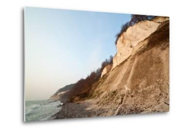 The Baltic Sea, National Park Jasmund, Chalk Rocks-Catharina Lux-Metal Print