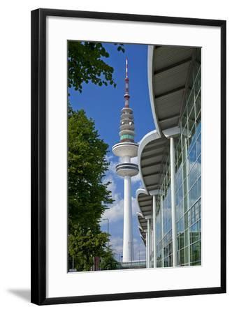 Europe, Germany, Hanseatic Town, Hamburg, Television Tower-Chris Seba-Framed Photographic Print