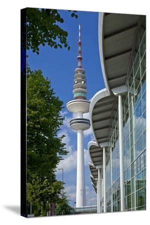 Europe, Germany, Hanseatic Town, Hamburg, Television Tower-Chris Seba-Stretched Canvas Print