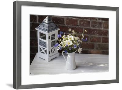 Bouquet, Summer Flowers, Lantern-Andrea Haase-Framed Photographic Print