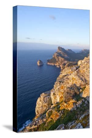 Spanish Balearic Islands, Island Majorca, Formentor, Cap De Catalunya-Chris Seba-Stretched Canvas Print