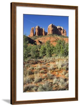 Cathedral Rock, Sedona, Arizona, Usa-Rainer Mirau-Framed Photographic Print
