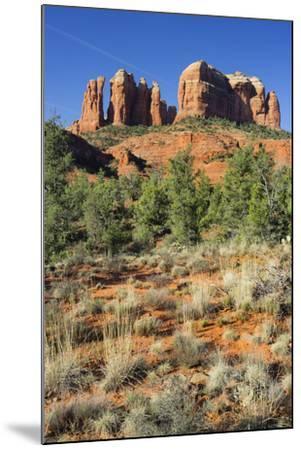 Cathedral Rock, Sedona, Arizona, Usa-Rainer Mirau-Mounted Photographic Print