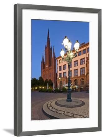 Europe, Germany, Hesse, Wiesbaden, Stone Mosaic-Chris Seba-Framed Photographic Print
