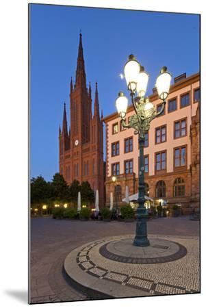 Europe, Germany, Hesse, Wiesbaden, Stone Mosaic-Chris Seba-Mounted Photographic Print