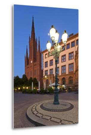 Europe, Germany, Hesse, Wiesbaden, Stone Mosaic-Chris Seba-Metal Print