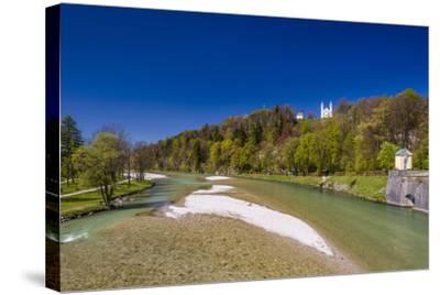 Germany, Bavaria, Upper Bavaria, T?lzer Land (Area), Bad T?lz-Udo Siebig-Stretched Canvas Print