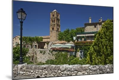 Europe, South of France, Provence, Verdon Gorges, Moustiers-Ste. Marie, Promenade, Townscape-Chris Seba-Mounted Photographic Print