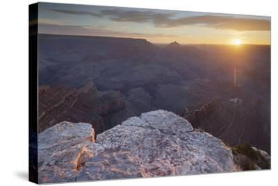 Shoshone Point, South Rim, Grand Canyon National Park, Arizona, Usa-Rainer Mirau-Stretched Canvas Print
