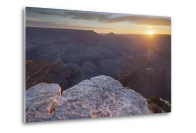 Shoshone Point, South Rim, Grand Canyon National Park, Arizona, Usa-Rainer Mirau-Metal Print