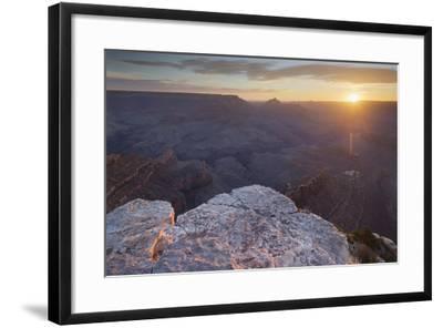 Shoshone Point, South Rim, Grand Canyon National Park, Arizona, Usa-Rainer Mirau-Framed Photographic Print