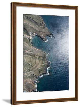 Tenerife, El Puertito, La Caleta, Costa Adeje, Volcano Coast-Frank Fleischmann-Framed Photographic Print
