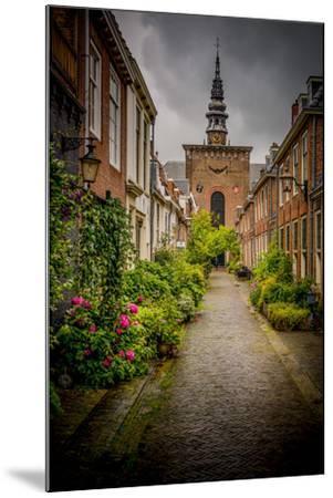 The Netherlands, Haarlem, Street, Lane-Ingo Boelter-Mounted Photographic Print