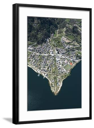 Lago Di Caldonazzo, Caldonazzo, River Delta, Mountain Lake, Swimming Lake-Frank Fleischmann-Framed Photographic Print