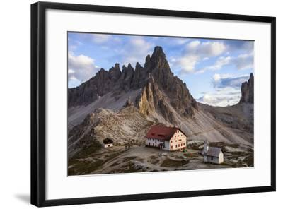 Europe, Italy, South Tyrol, the Dolomites, Tre Cime Di Lavaredo, Paternkofel, Dreizinnenh?tte-Gerhard Wild-Framed Photographic Print