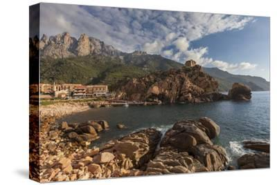 Europe, France, Corsica, Calanche, Bay of Postage-Gerhard Wild-Stretched Canvas Print