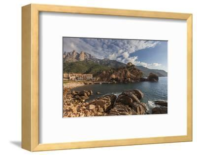 Europe, France, Corsica, Calanche, Bay of Postage-Gerhard Wild-Framed Photographic Print