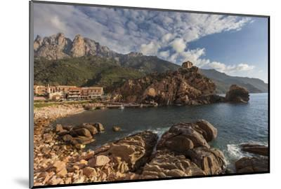 Europe, France, Corsica, Calanche, Bay of Postage-Gerhard Wild-Mounted Photographic Print