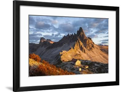 Europe, Italy, South Tyrol, the Dolomites, Paternkofel, Dreizinnenh?tte-Gerhard Wild-Framed Photographic Print