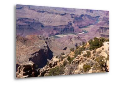 USA, Grand Canyon National Park, Desert View-Catharina Lux-Metal Print