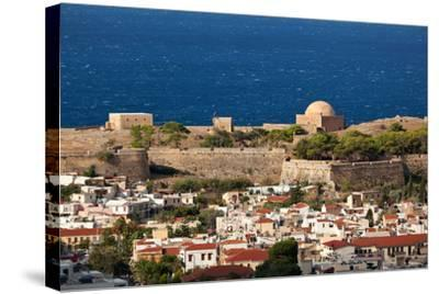 Greece, Crete, Rethimnon, Fortezza, Distant View-Catharina Lux-Stretched Canvas Print