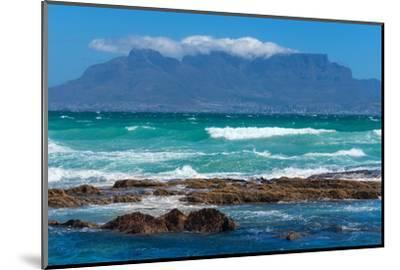 Cape Town, Table Mountain, Distant View-Catharina Lux-Mounted Photographic Print