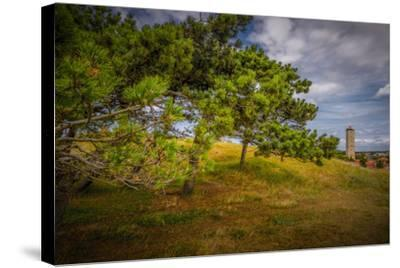 The Netherlands, Frisia, Terschelling, Lighthouse-Ingo Boelter-Stretched Canvas Print