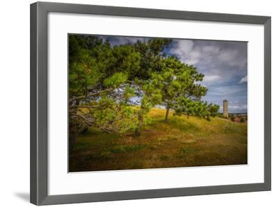 The Netherlands, Frisia, Terschelling, Lighthouse-Ingo Boelter-Framed Photographic Print