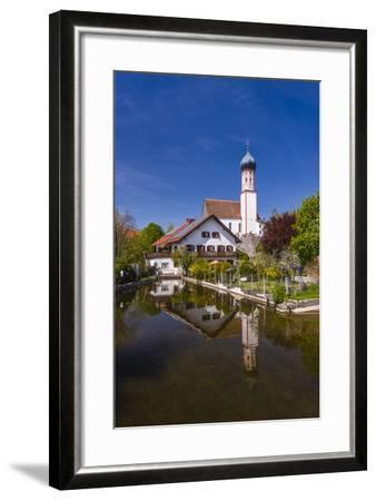 Germany, Bavaria, Upper Bavaria, Pfaffenwinkel, Uffing in the Staffelsee-Udo Siebig-Framed Photographic Print