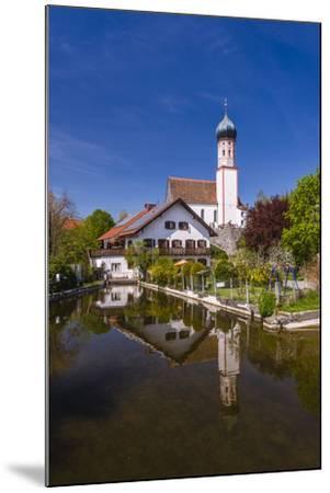 Germany, Bavaria, Upper Bavaria, Pfaffenwinkel, Uffing in the Staffelsee-Udo Siebig-Mounted Photographic Print
