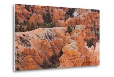 Inspiration Point, Hoodoos, Bryce Canyon, Utah, Usa-Rainer Mirau-Metal Print