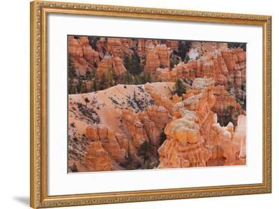 Inspiration Point, Hoodoos, Bryce Canyon, Utah, Usa-Rainer Mirau-Framed Photographic Print