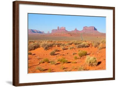 USA, Monument Valley-Catharina Lux-Framed Photographic Print