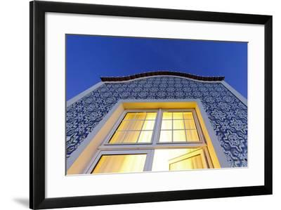 Facade of a Luxury Suite, Night Photography, Marriott Golf and Beach Resort-Axel Schmies-Framed Photographic Print