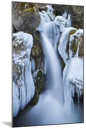 Austria, Lower Austria, Miraf?lle (Waterfall), Winter-Rainer Mirau-Mounted Photographic Print