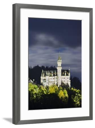 Neuschwanstein Castle, Allg?u, Upper Bavaria, Bavaria, Germany-Rainer Mirau-Framed Photographic Print