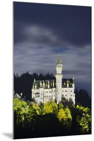 Neuschwanstein Castle, Allg?u, Upper Bavaria, Bavaria, Germany-Rainer Mirau-Mounted Photographic Print