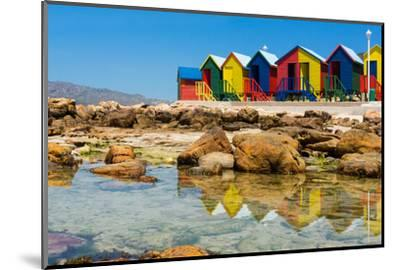 South Africa, Muizenberg, Little Bathhaus-Catharina Lux-Mounted Photographic Print