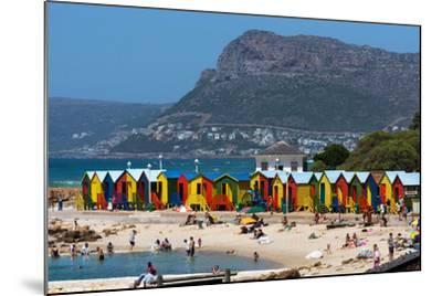 South Africa, Muizenberg, Beach, Little Bathhaus-Catharina Lux-Mounted Photographic Print