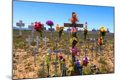 South Africa, Little Karoo, Memorial Crosses-Catharina Lux-Mounted Photographic Print
